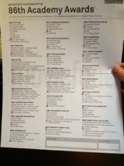 86th Annual Oscars- My best guesses!